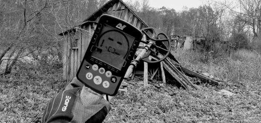 Копаем на заброшенном лесном хуторе (находки, настройки+)