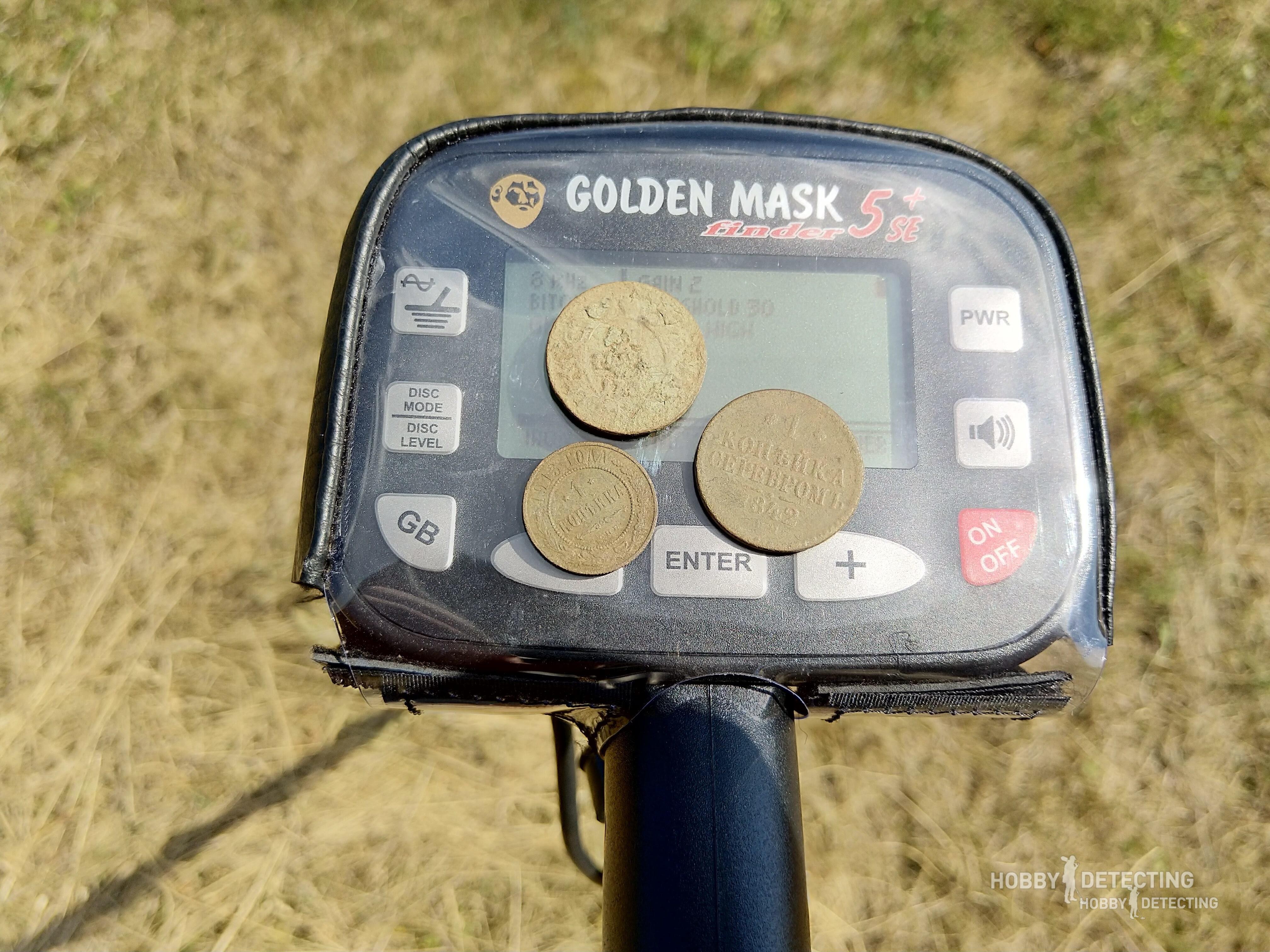 Golden Mask 5 Plus SE 15-30 kHz Грунтовый металлоискатель Golden mask