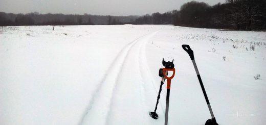 приборный поиск в зимний период