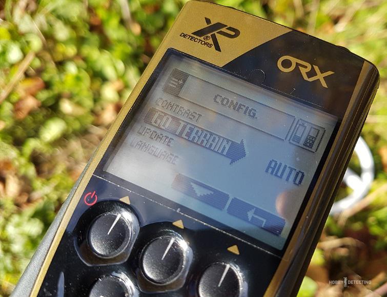 Металлоискатель XP ORX - обзор и настройки