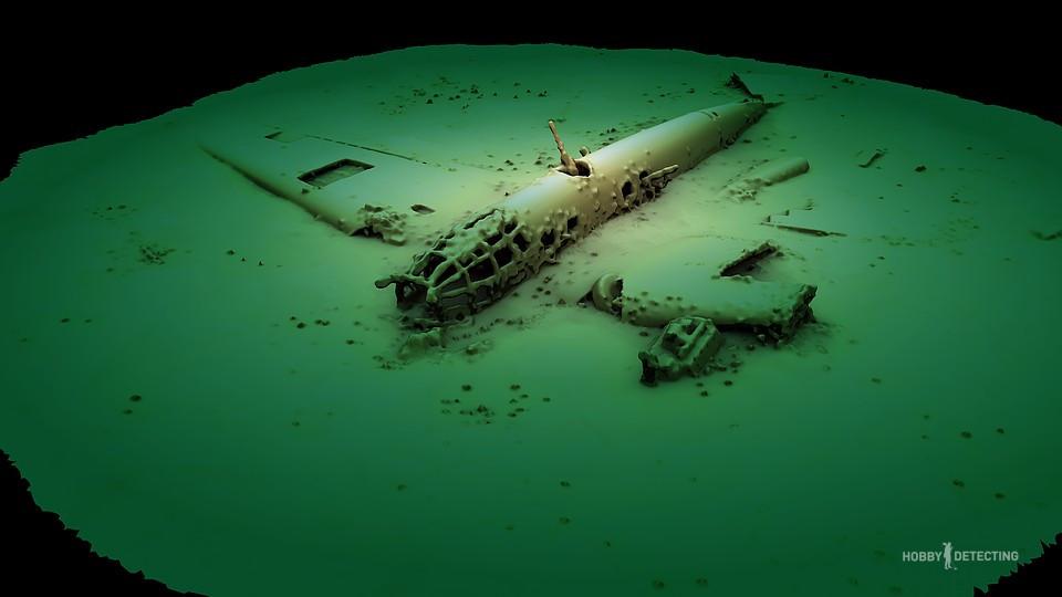 Бомбардировщик Люфтваффе Хейнкель-111 на дне Черного моря (коп по войне, фото+)