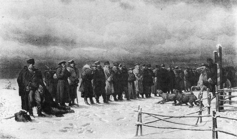 польский мятеж 1863 года