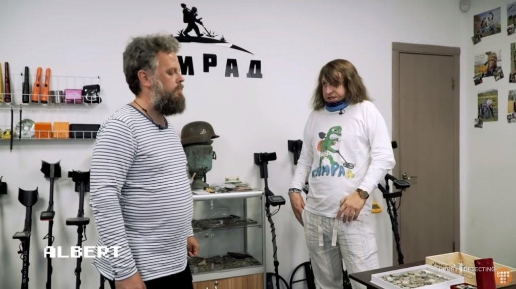 Алексей Самков о магии сокровищ и поиске военных артефактов на Донбассе (интересное интервью)