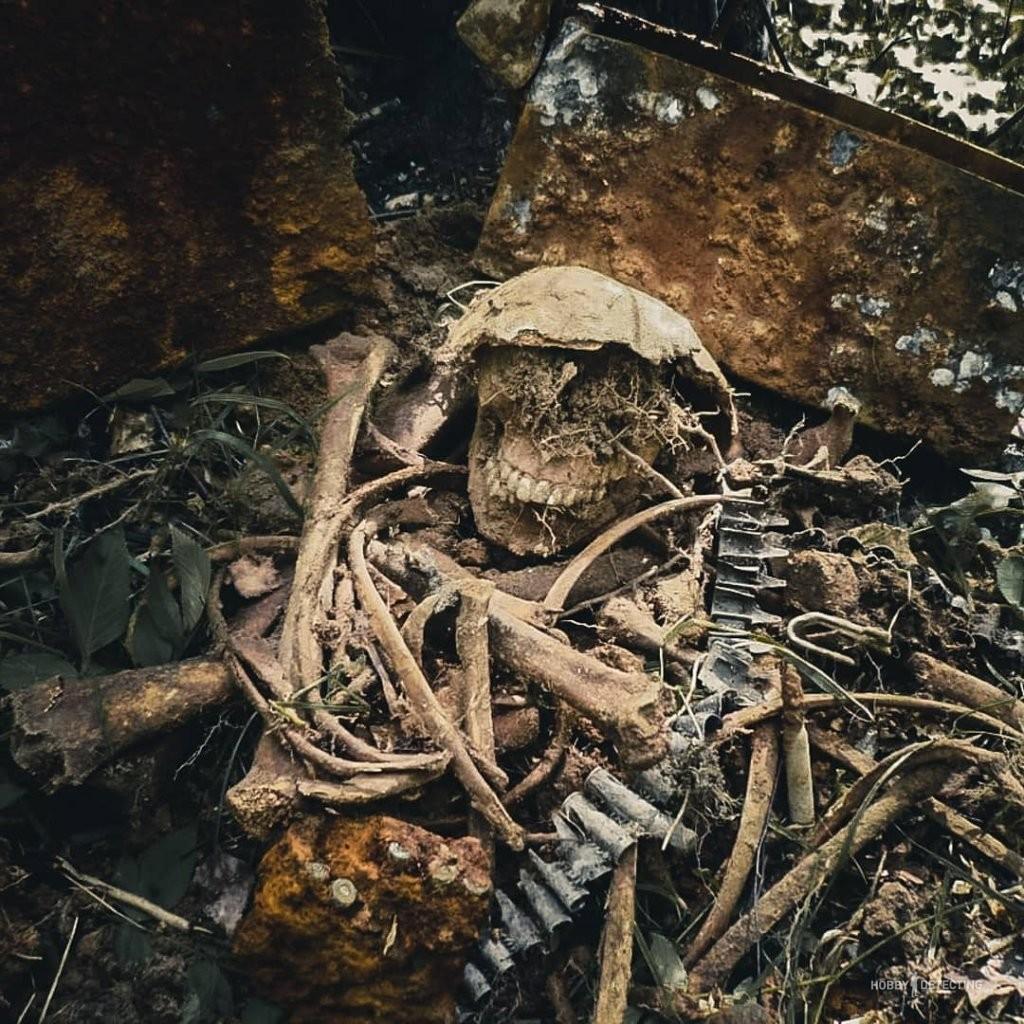 Найдены останки немецкого пулеметчика. События 1943 года