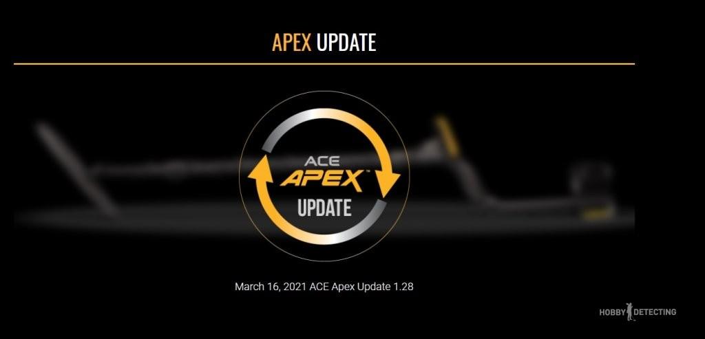 Вышло обновление для Garrett ACE APEX! Ссылка в описании