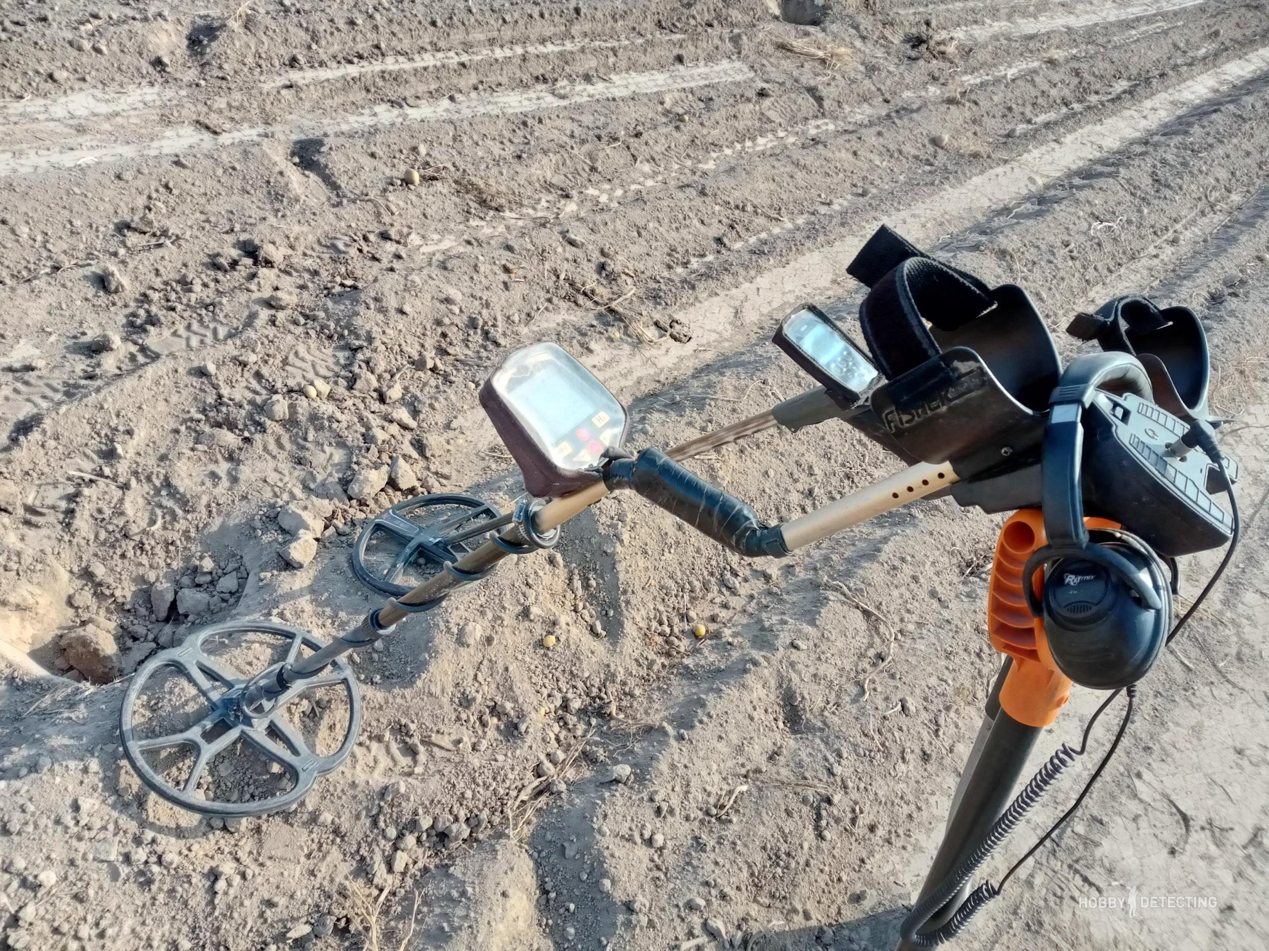 Как здоровая конкуренция на копе, заставляет изучать настройки металлоискателя?