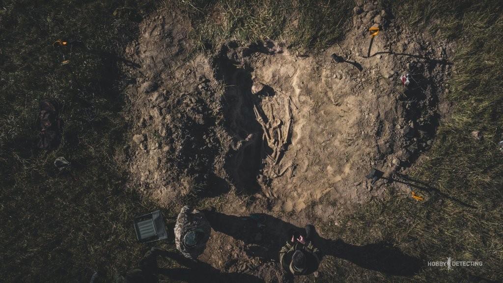 В Подмосковье обнаружены останки погибших воинов РККА